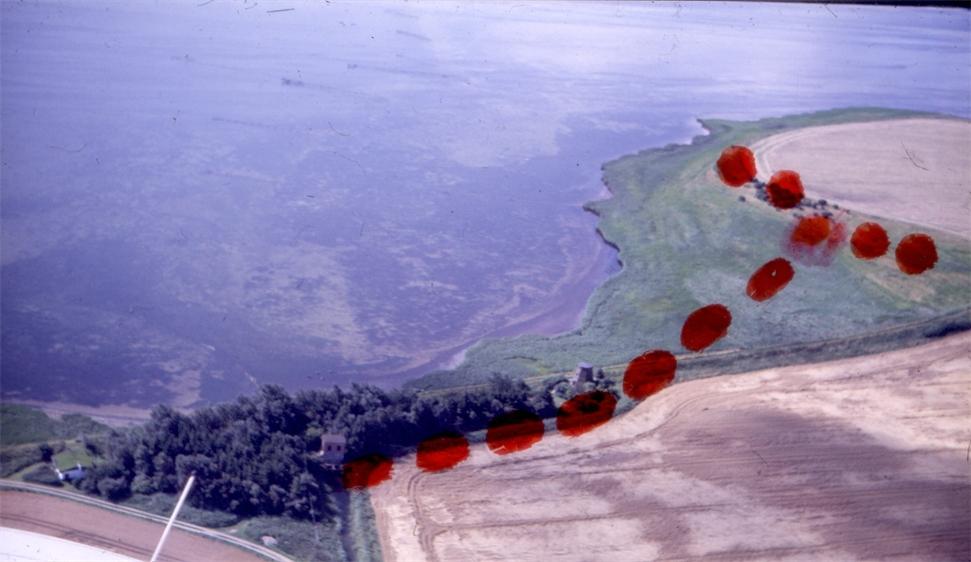 Nylandskanalen i 1987 afloeb fra svenstrup og vejloe