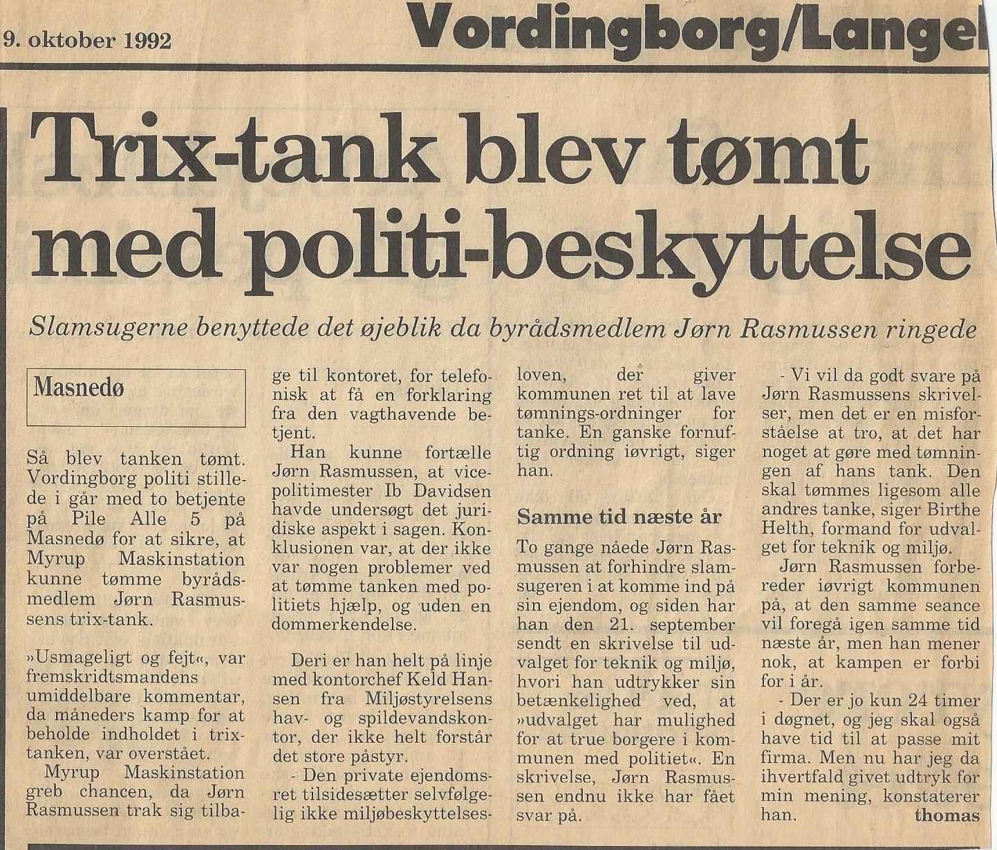 Trix Politi 22